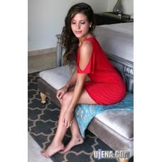 Around Town Red Dress