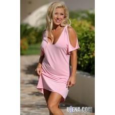 Around Town Pale Pink Dress